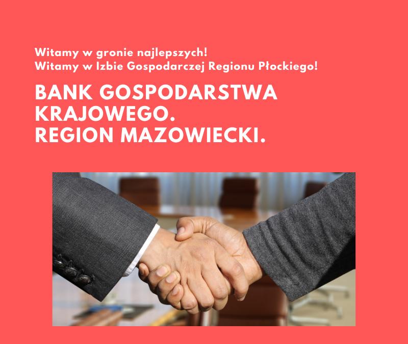 Witamy Bank Gospodarstwa Krajowego w IGRP!