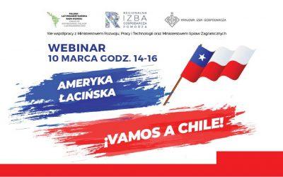 """ZAPRASZAMY NA WEBINAR """"Vamos a Chile"""""""